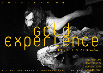 """岩渕貞太 身体地図が新作『Gold Experience』を上演~カラダを深く掘り下げて踊られる""""身体の考古学"""""""