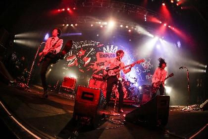 """THE BAWDIES、対バンツアー最終公演でドレスコーズ""""with B""""をお披露目"""