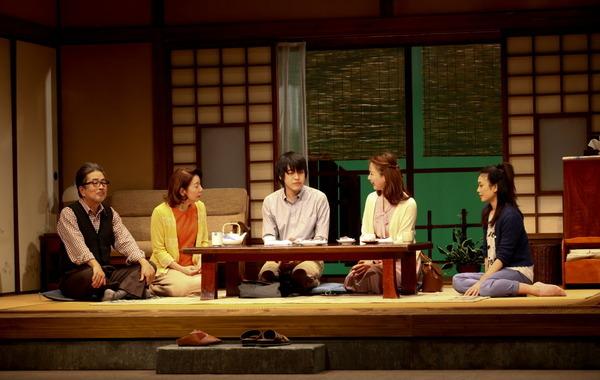 初演の舞台より(2014年12月)