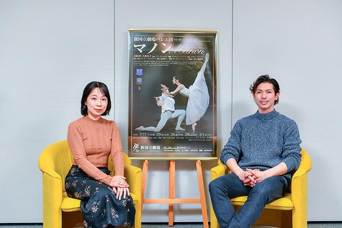 (左)辛酸なめ子(右)井澤駿 (撮影:阿部章仁)
