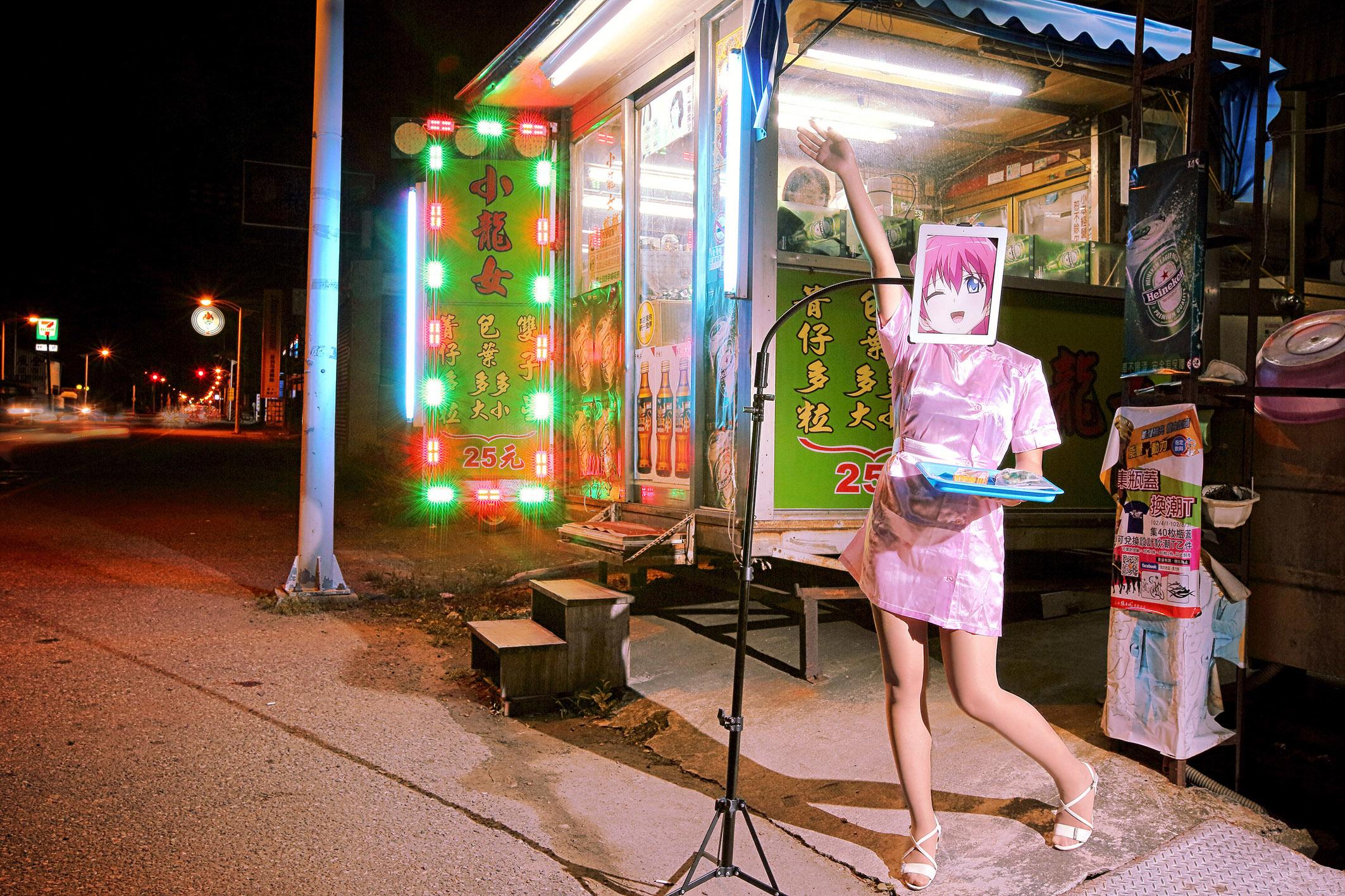 シム・チャン(台湾、1983)《檳榔樹(びんろうじゅ)売りの少女》(C)Sim Chang