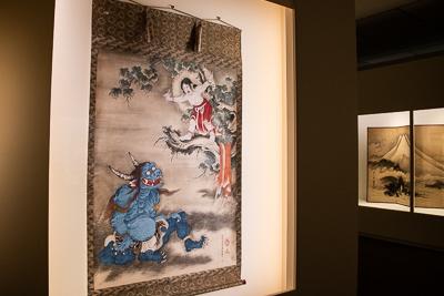 曽我蕭白 《 雪山童子図》 紙本着色 一幅 169.8×124.8cm 明和元年(1764)頃 三重・継松寺