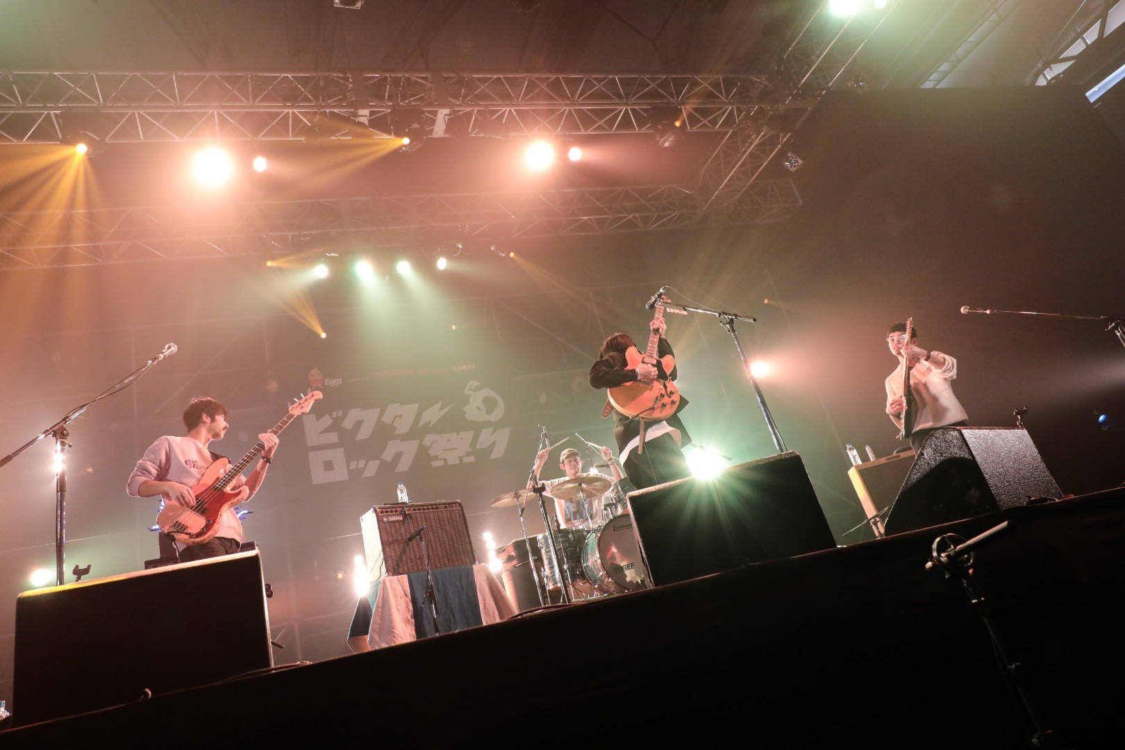 Yogee New Waves Photo by にしきゆみ(SOUND SHOOTER)