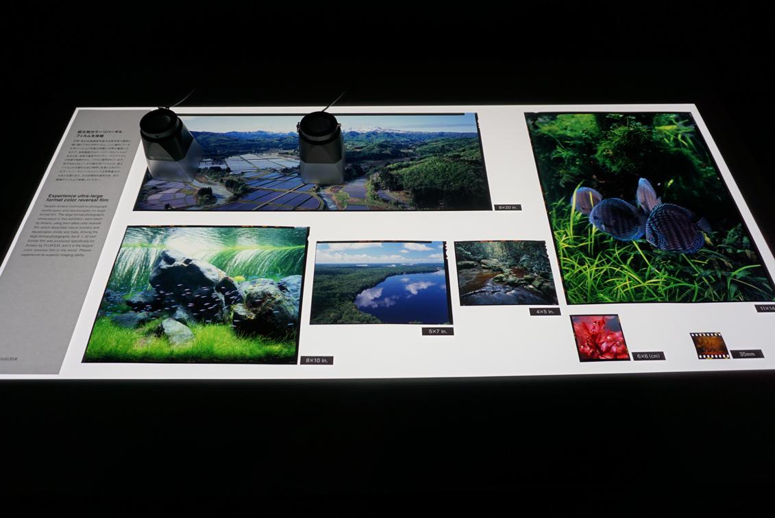 超大判フィルムの再現性を、実際の天野氏撮影フィルムで確認できる。