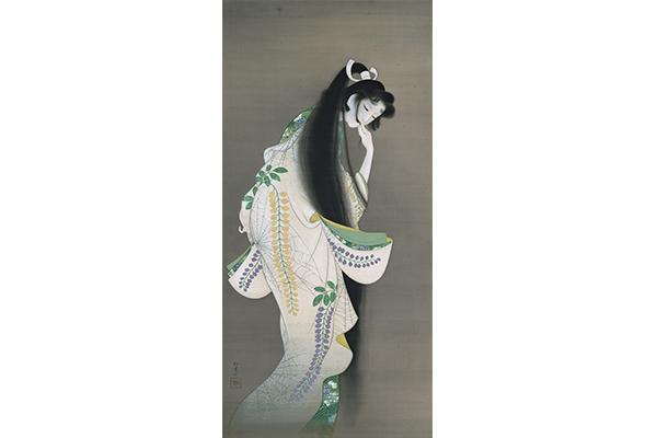 上村松園《焰》大正7年、東京国立博物館、東京展のみ、2週間展示