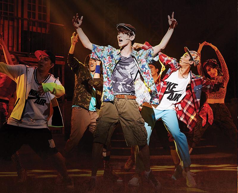 韓国版『イン・ザ・ハイツ』の舞台写真