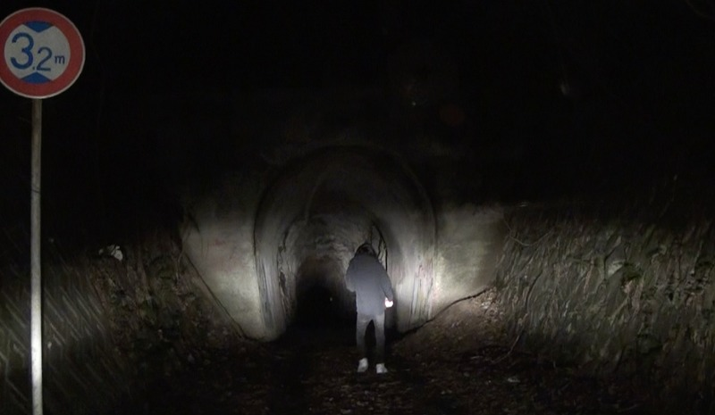 電波少女ヒッチハイク/トンネル