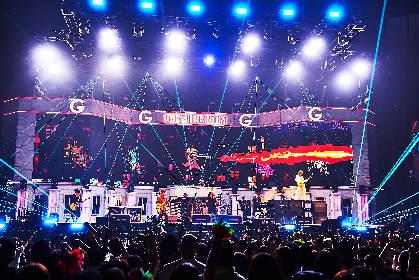 GLAY、25周年記念アリーナツアー完走 ツアーファイナル・横浜アリーナ公演のオフィシャルレポート到着