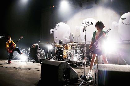 融合する歌とステージとアニメーション、新しき名曲の誕生ーーSHISHAMOのホールツアー・NHKホール公演