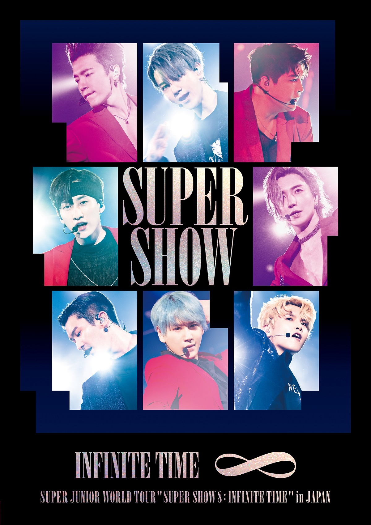 SUPER JUNIOR『SUPER JUNIOR WORLD TOUR ''SUPER SHOW 8:INFINITE TIME'' in JAPAN』通常盤