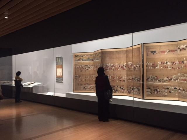 重要文化財 東福門院入内図屏風 江戸時代 17世紀 三井記念美術館