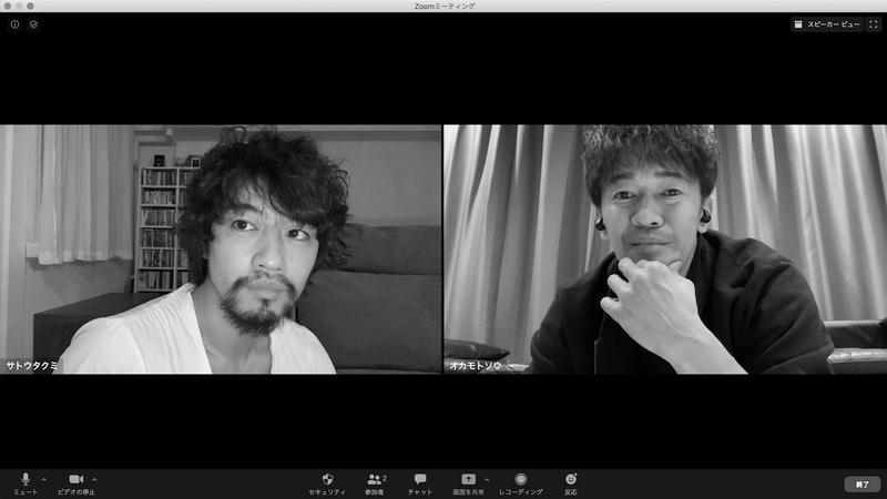 左から、斎藤工、武井壮 (C)日本映画専門チャンネル/ロックウェルアイズ