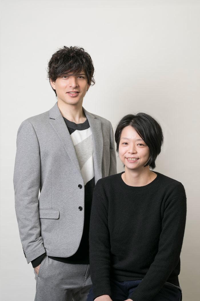 (左から)城田優、小川絵梨子