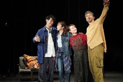 ミュージカル『In This House~最後の夜、最初の朝~』が開幕 舞台写真と岸祐二、入絵加奈子、綿引さやか、川原一馬、演出の板垣恭一よりコメントが到着