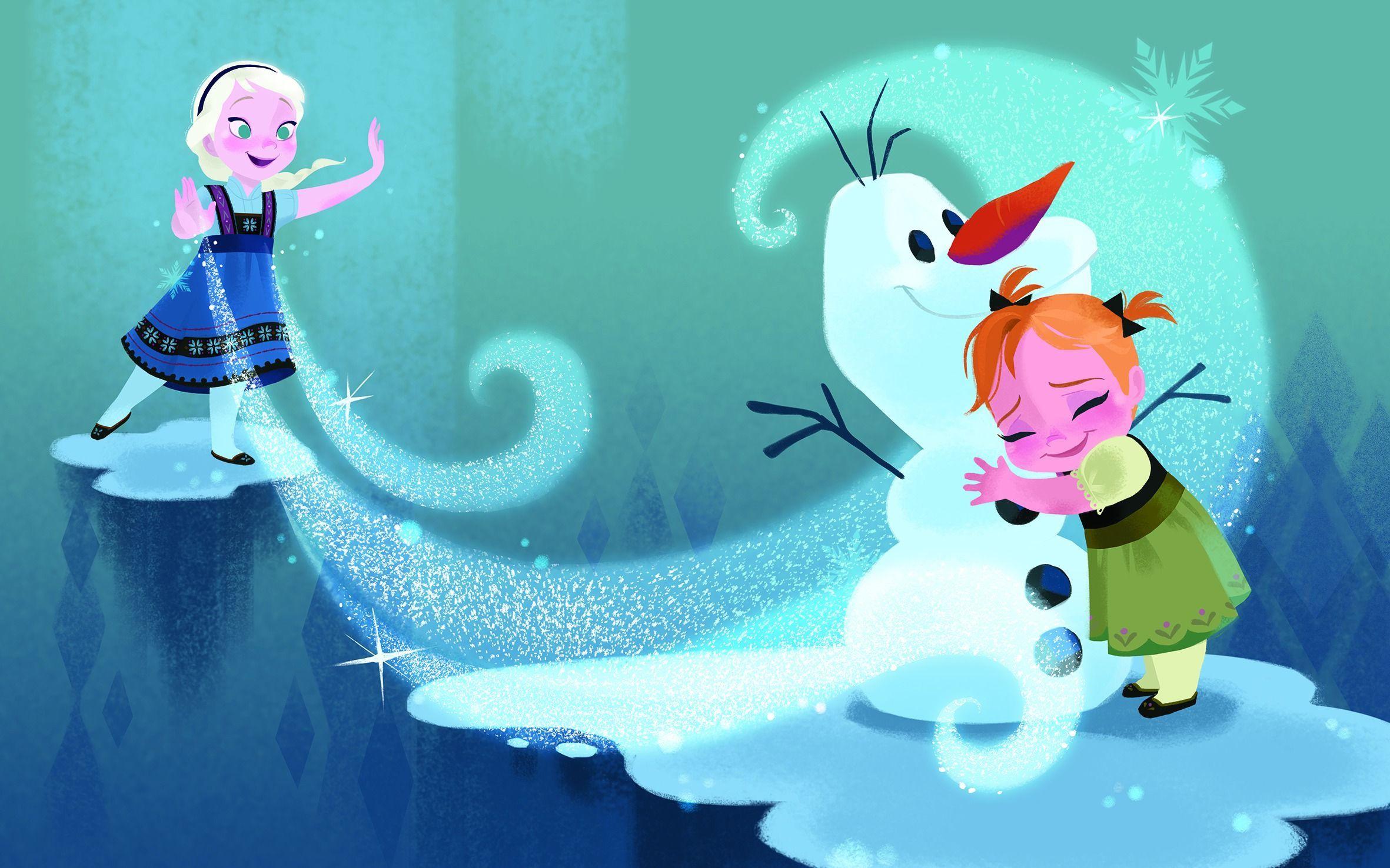 アナと雪の女王より 2013年 (C)Disney Enterprises, Inc.