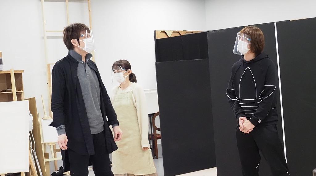 山口祐一郎・浦井健治・保坂知寿、一筋縄ではいかない三人三様の演技を ...