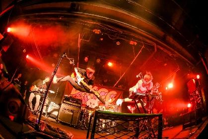 キュウソネコカミ、9都市でライブハウスツアーを開催 メンバー全員によるLINE LIVEも