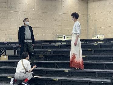 将軍・渡辺謙とインカ王・宮沢氷魚が対決 『ピサロ』稽古場レポートが到着