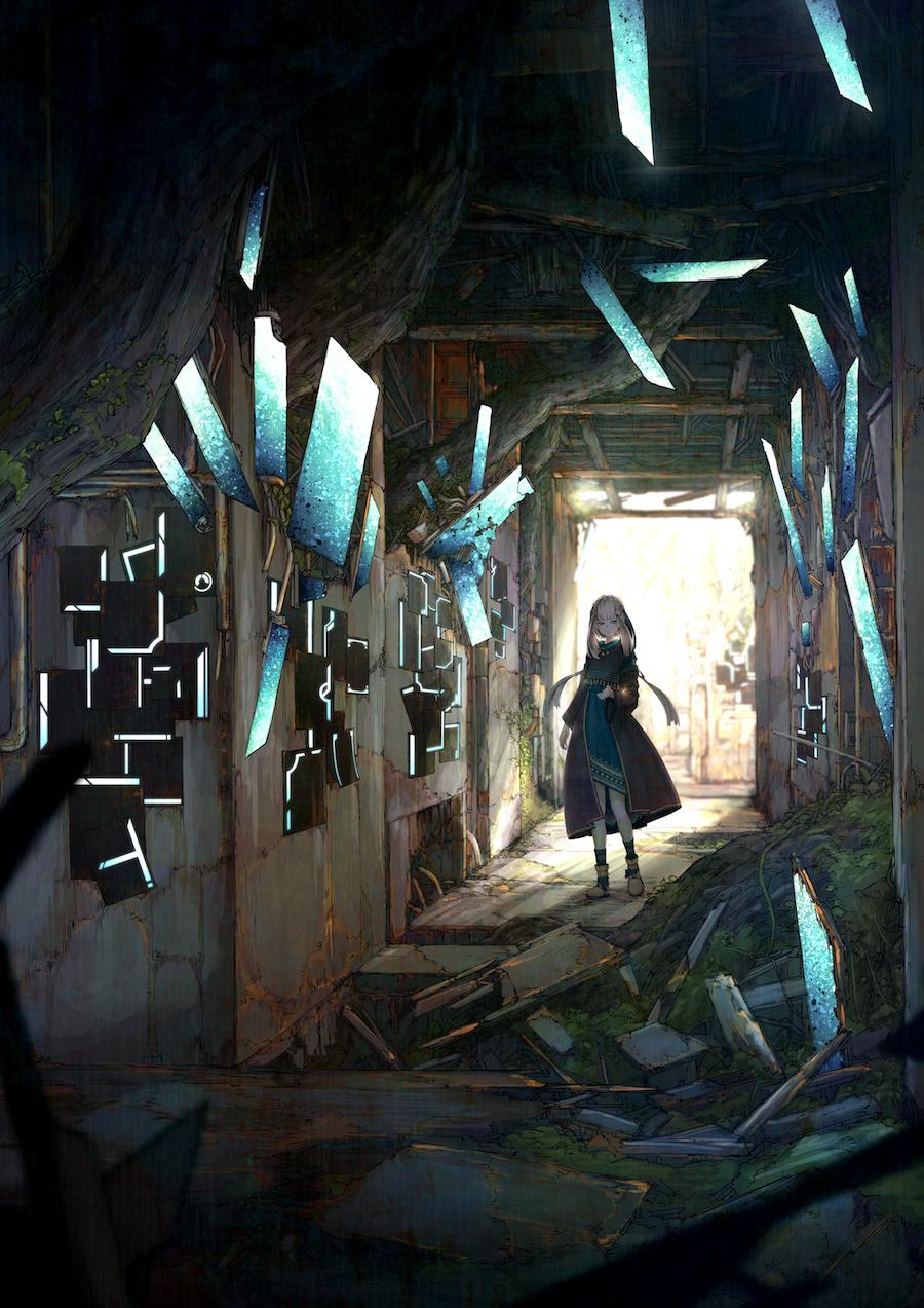 宮下遊 3rdアルバム『錆付くまで』通常盤イラスト