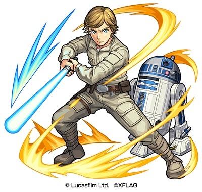 光属性 ★6 ジェダイの騎士ルーク&R2-D2