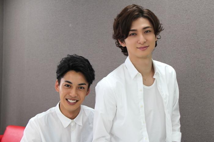 (左から)大野拓朗、古川雄大