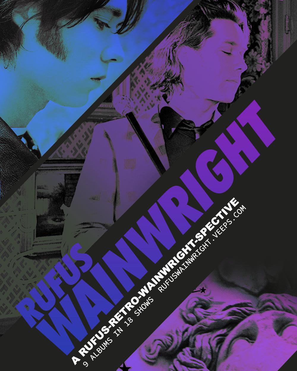 『A Rufus-Retro-Wainwright-Spective Tour 2020-2021』フライヤー