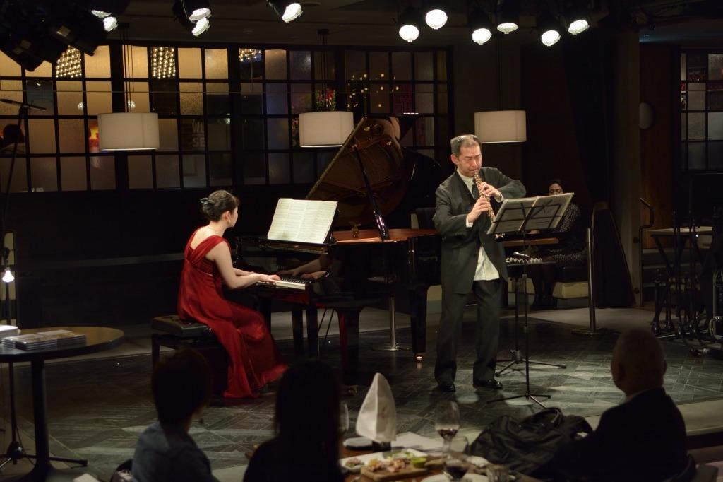 古澤幹子(ピアノ)、渡辺克也(オーボエ)