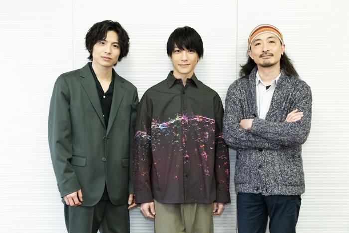 (左から)宮崎秋人、鈴木拡樹、日澤雄介