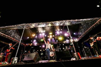 『OSAKA GENKi PARK』オフィシャルライブレポート【もみじ川広場 LEFT STAGE】初日ーー初野外ライブの瑛人、新曲披露の向井太一、地元・大阪のBrian the Sun、PANが出演