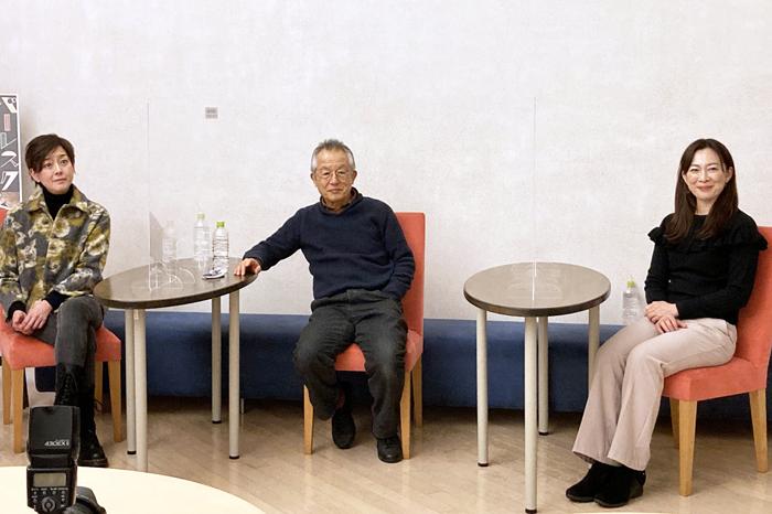 左から秋本奈緒美、串田和美、香寿たつき (写真提供:まつもと市民芸術館)