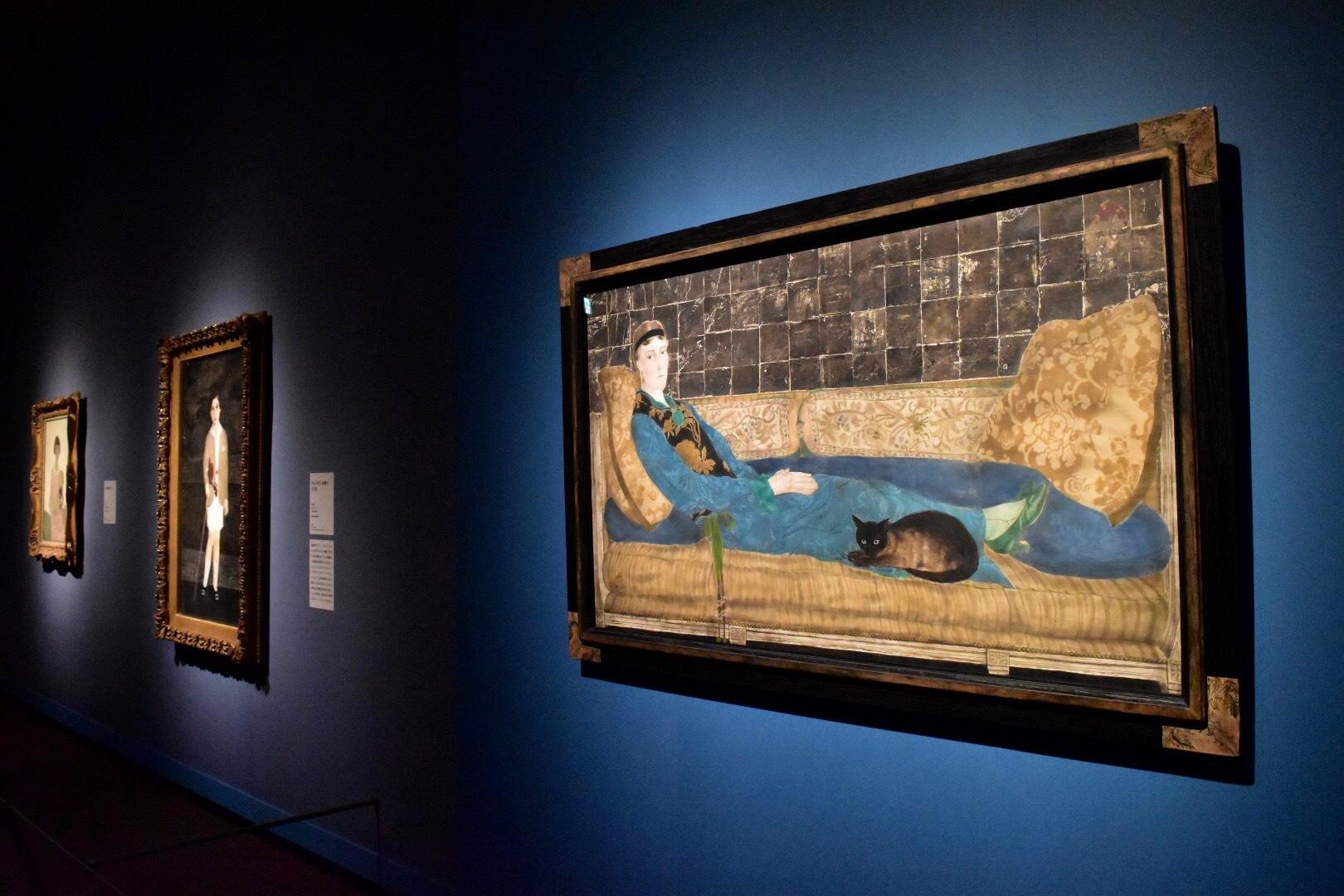 《エミリー・クレイン=シャドボーンの肖像》 1922年 シカゴ美術館蔵 (C) Foundation Foujita / ADAGP , Paris & JASPAR , Tokyo , 2017 E2833