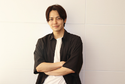 猪塚健太がA New Musical『FACTORY GIRLS~私が描く物語~』を語る! 「ベンジャミンとして真剣に恋をしたいです」