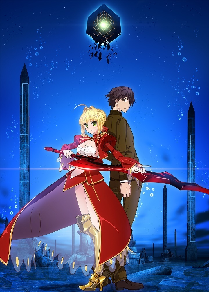 『Fate/EXTRA Last Encore』 (C)TYPE-MOON/Marvelous, Aniplex, Notes, SHAFT