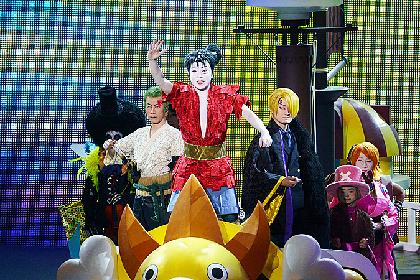 市川猿之助が「スーパー歌舞伎II(セカンド)『ワンピース』」上演中に左腕骨折
