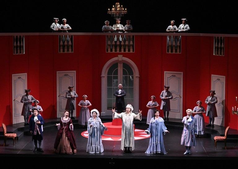 第28回みつなかオペラ チマローザ「秘密の結婚」(2019.10.みつなかホール)  (C)みつなかオペラ実行委員会