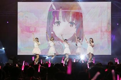 妄想キャリブレーション、海外ツアーがシンガポールで終幕 メインステージ2,500人の観客を前に堂々の歌唱