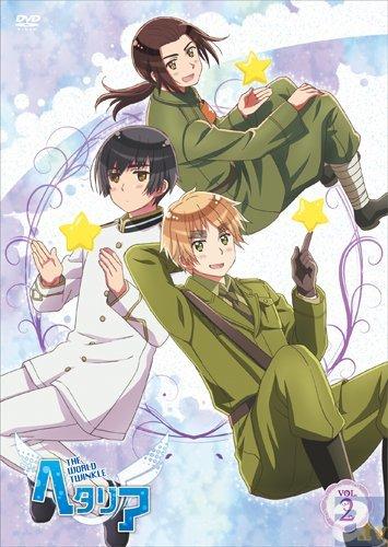アニメ「ヘタリア TWT」DVD vol.2のジャケ写真到着