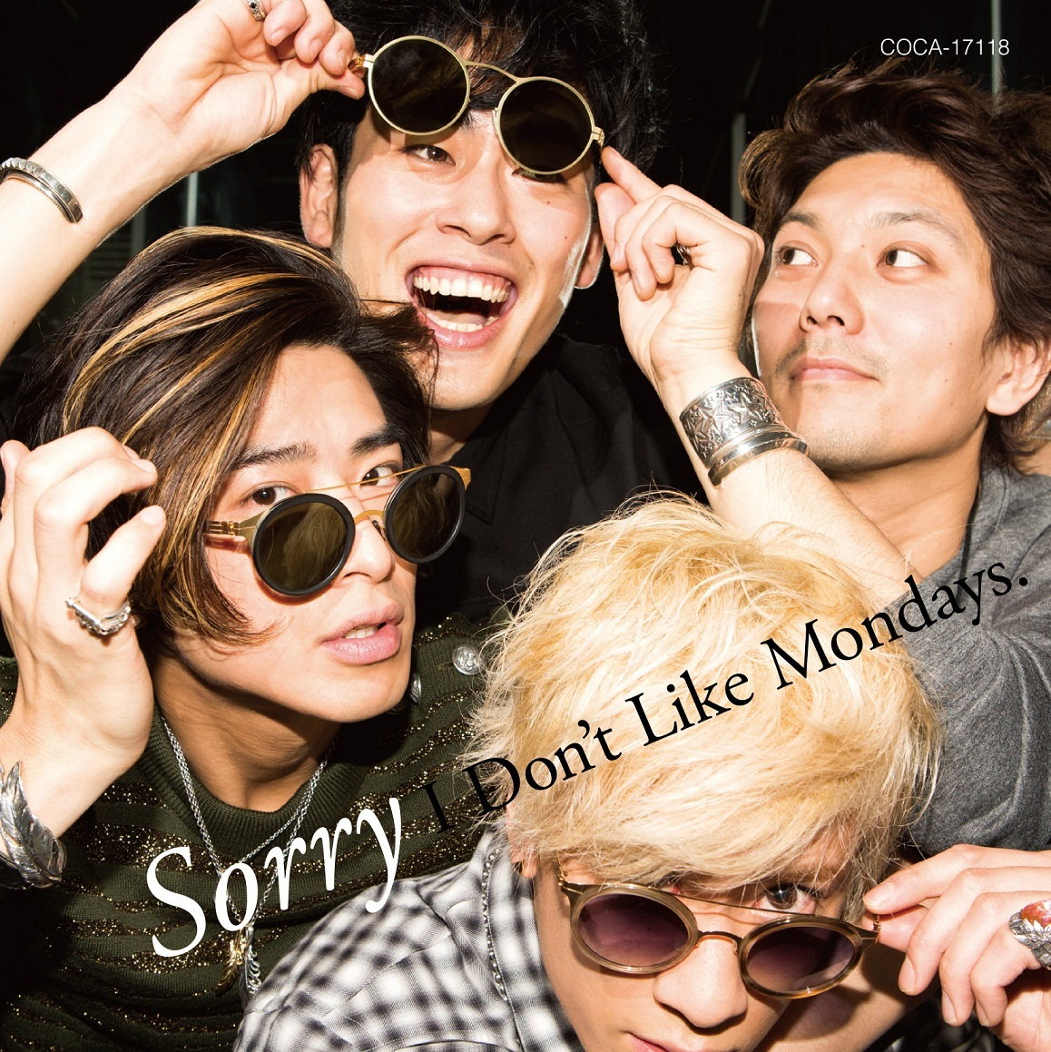I Don't Like Mondays.「Sorry」通常盤