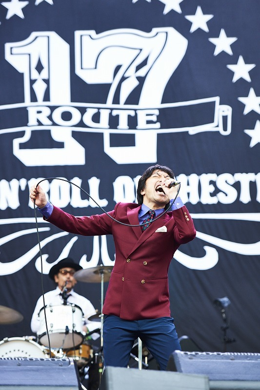 ROUTE 17 Rock'n'Roll ORCHESTRA feat. トータス松本