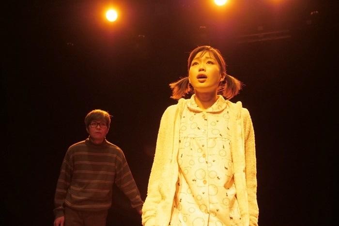 後藤ひろひと作・演出で上演した、T-worksの旗揚げ公演『源八橋西詰』(2018年)。 [撮影]堀川高志