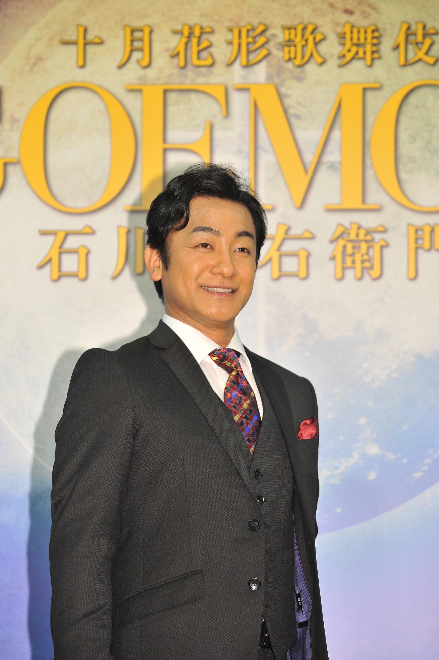 十月花形歌舞伎「GOEMON」石川五右衛門/片岡愛之助