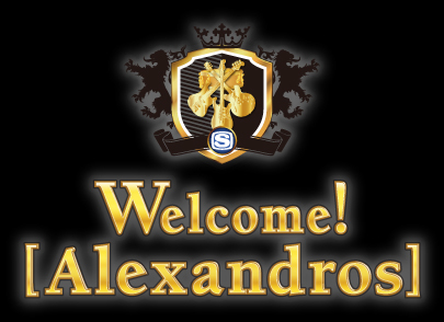 Welcome! [Alexandros]