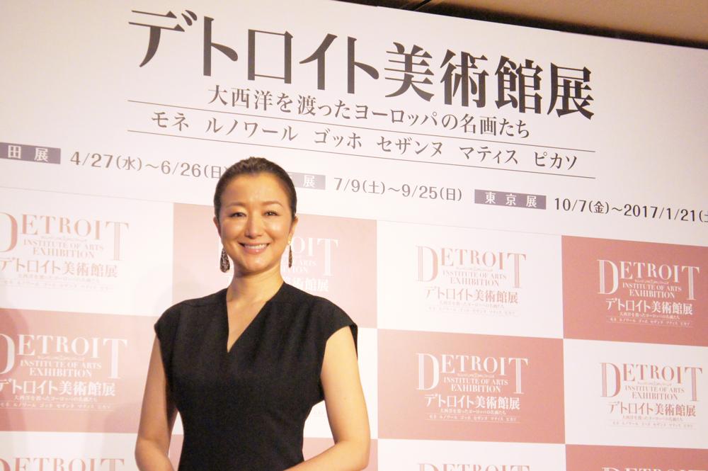 音声ナビゲーダーを務める女優・鈴木京香
