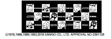 サンリオキャラクターズSUMMER タオルcollaborated by OTODAMA SEA STUDIO