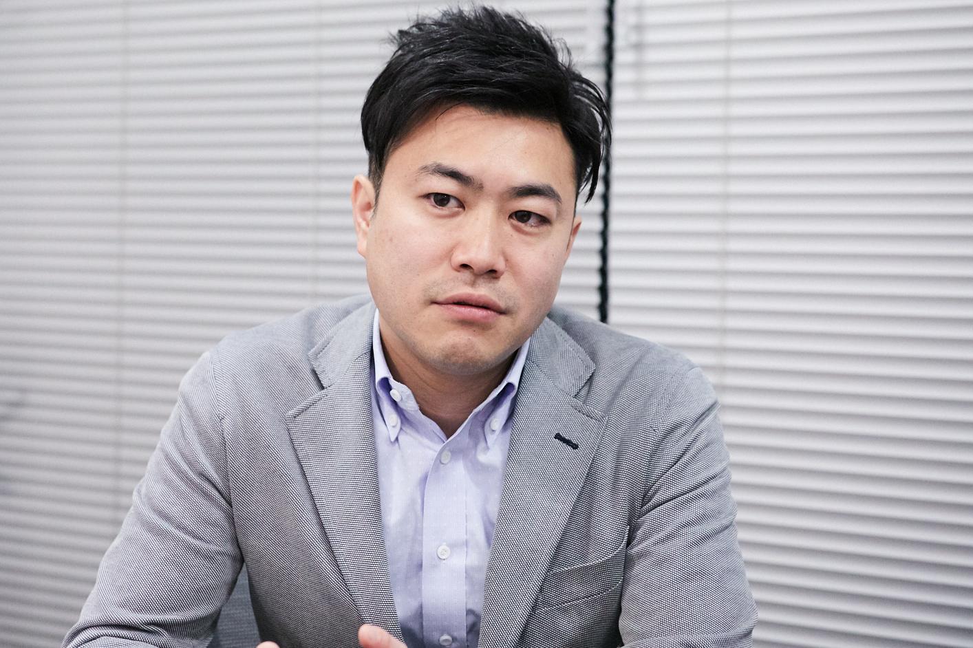 飯塚達介プロデューサー 撮影=岩間辰徳