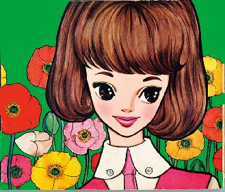 """Kawaii""文化の生みの親、『内藤ルネ展』が大阪で開催 少女を描いた未公開作品や復刻原画も"