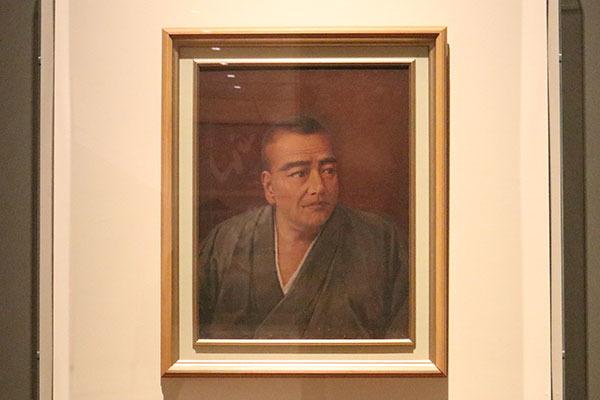 石川静正画「西郷隆盛肖像画」(大正時代初、個人蔵)