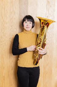 世界が注目する若き才媛・佐藤采香、SPICE初のユーフォニアム奏者単独インタビュー