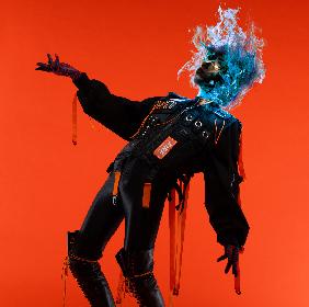 女王蜂、先行配信の新曲「火炎」のジャケット解禁 渋谷センター街でオンエアも