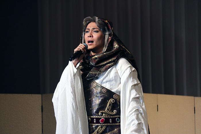 「オラオラ系」イズミル役の平方元基 ミュージカル「王家の紋章」